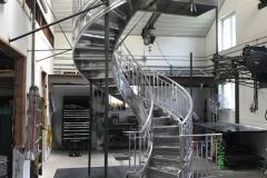 Aluminum Stair and Railing