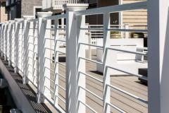 Aluminum Exterior Railing