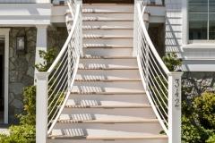 Front Stair Aluminum Railing