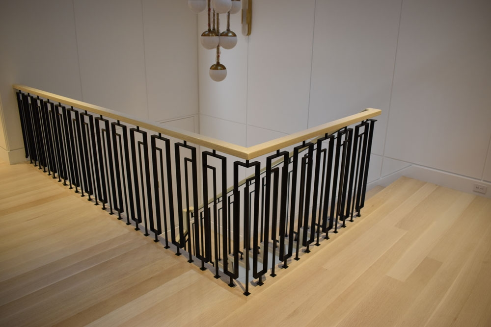 Stylish NYC Home with Contemporary Railings - Compass Iron ...