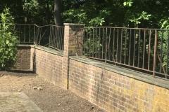 Rusted Iron railing