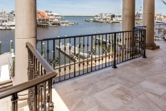 Shore Back Patio Aluminum Railing