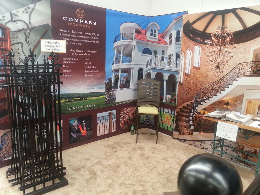 Architectural Digest Home Design Show Recap Compass Iron Works