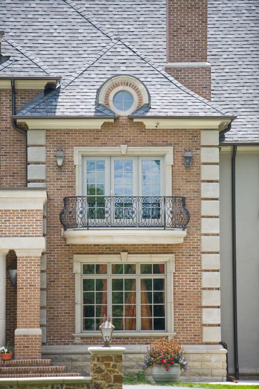 Beautiful Iron Balcony Railing