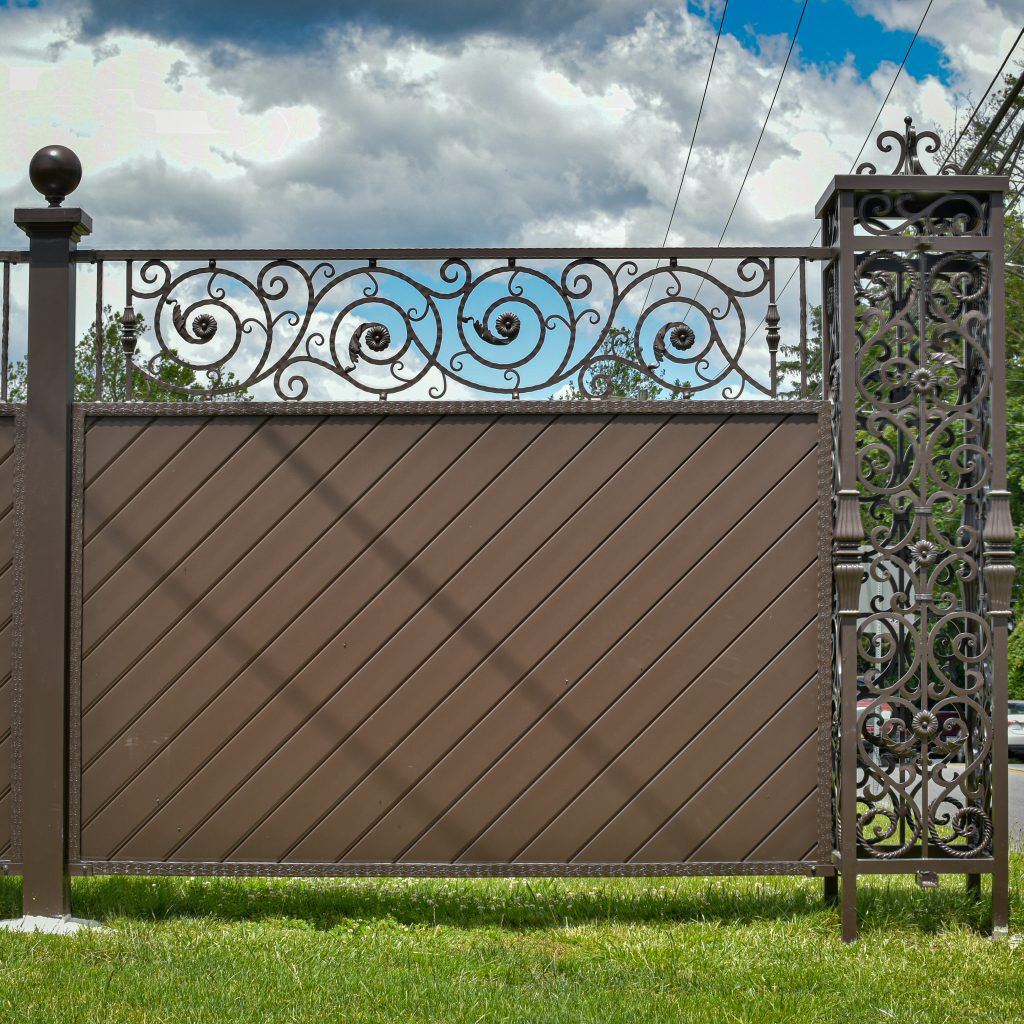 Classic Ornamental Panel Fence