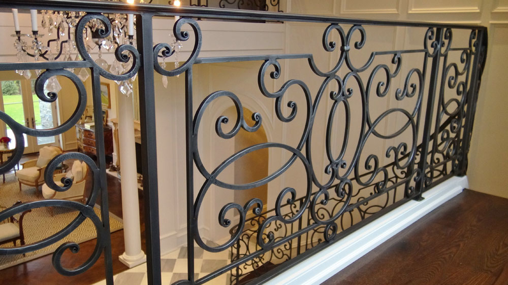 Custom Forged Iron Railing
