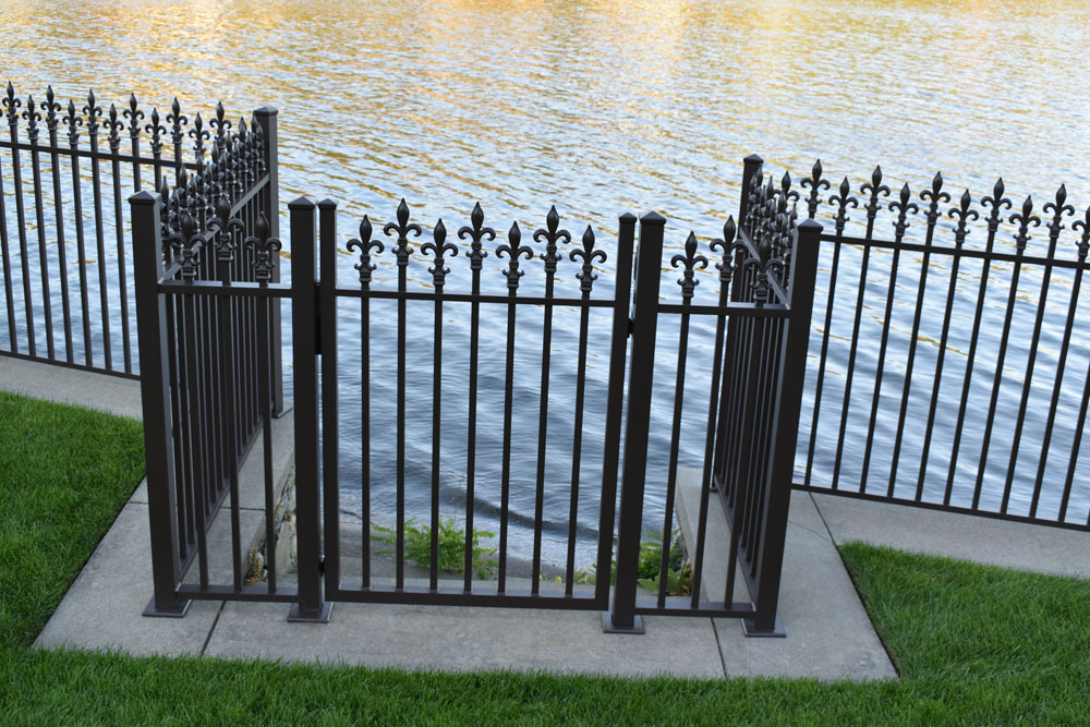 Custom Gate to the Water Front