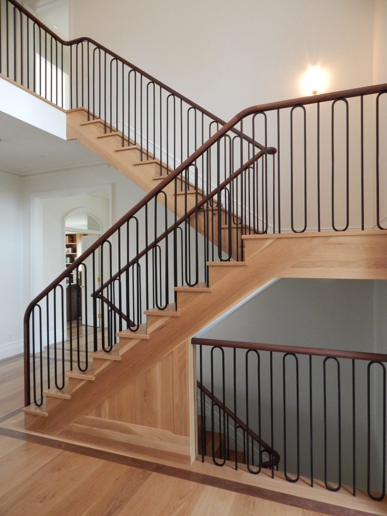 Aesthetic Staircase Railing Designs Amazing Ideas: Compass Iron Works