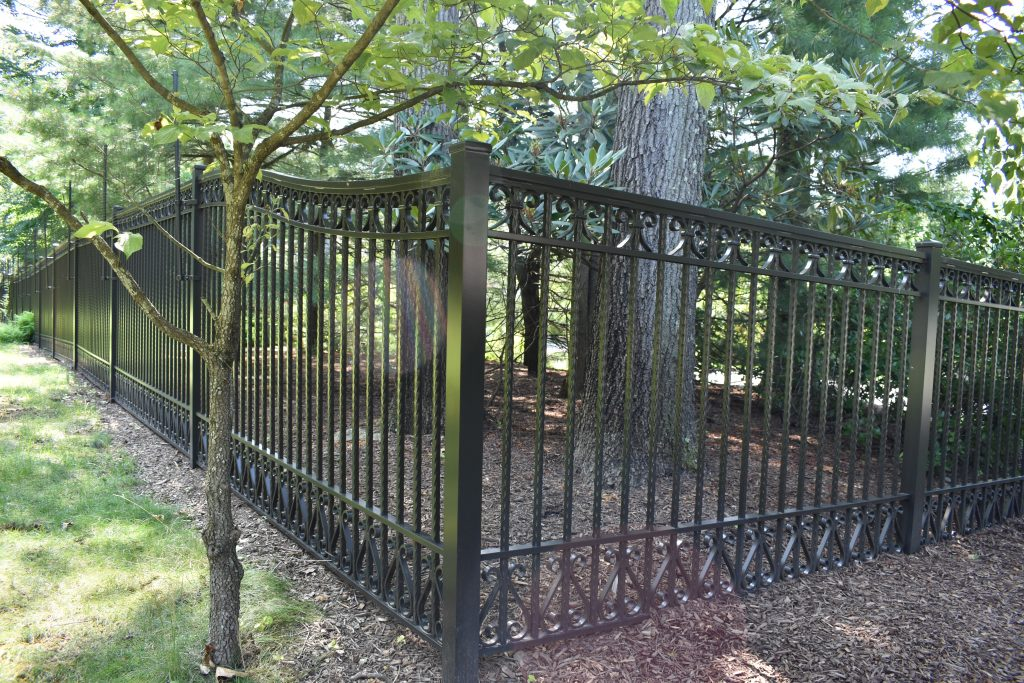 Ornamental Perimeter Fence