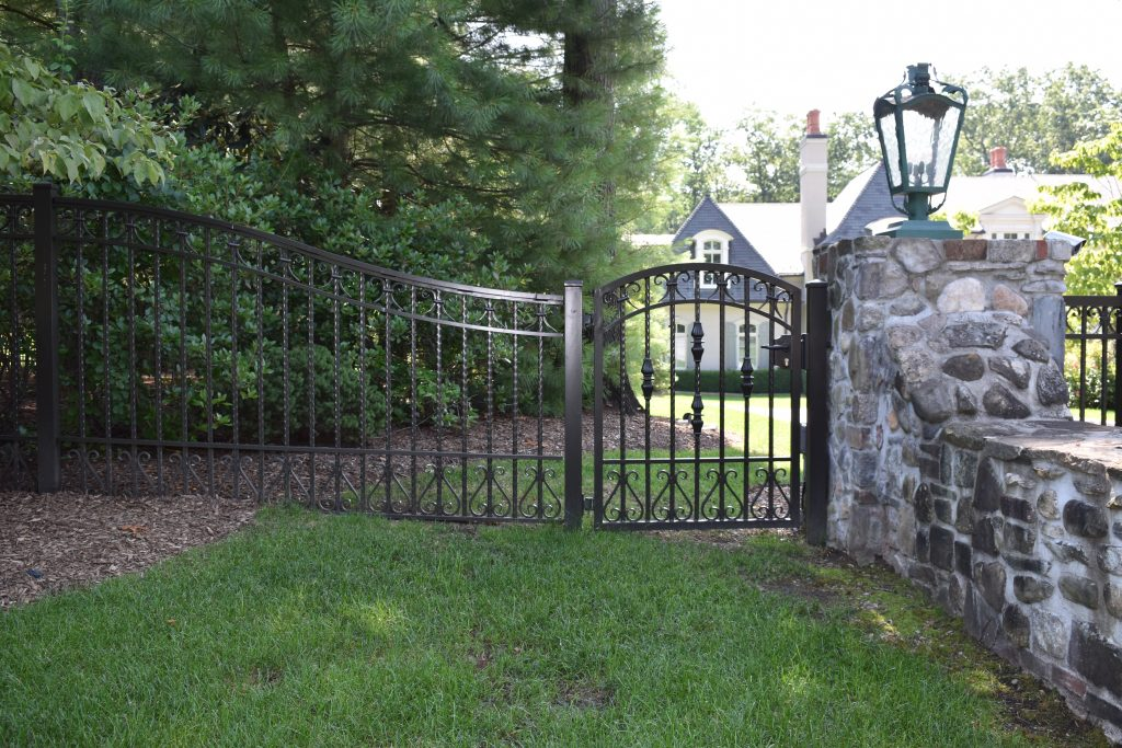 Ornamental Perimeter Fence and Gate