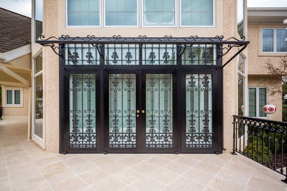 Decorative French Doors