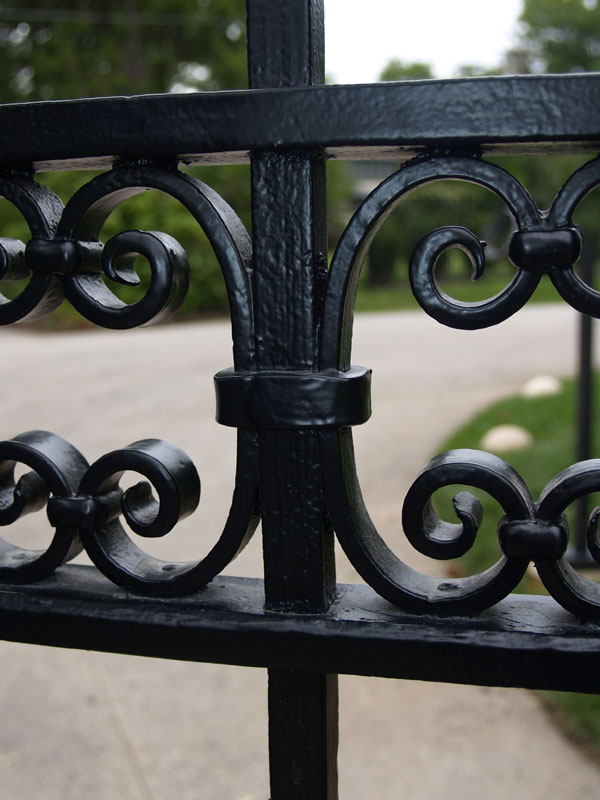 Gate Finish Detail