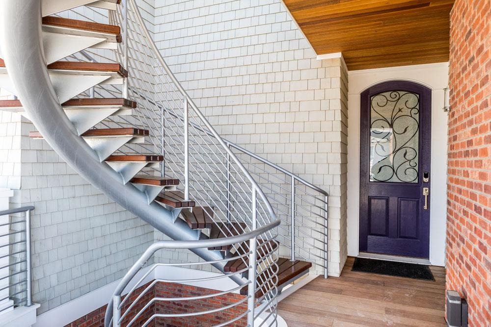 Helical Stair Railing