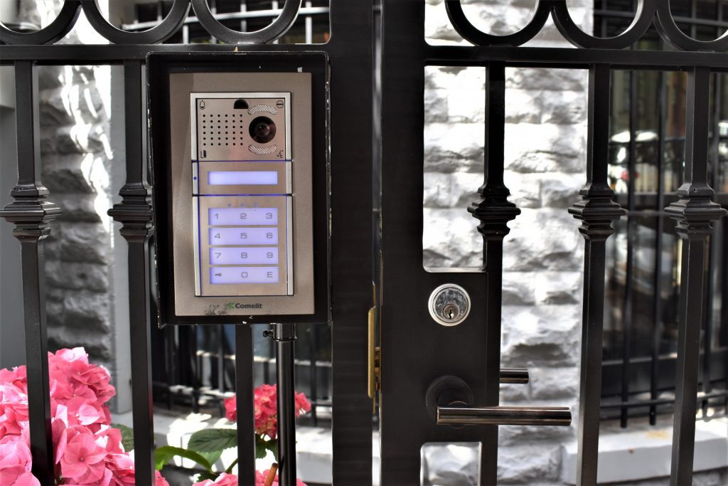 Security Keypad for a small gate