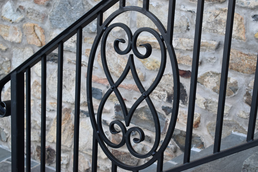 balcony railing code Code Compliant Authentic Pool Fence Compass Iron Works