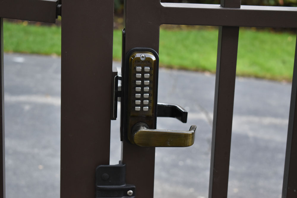 Manual Key Pad Gate Latch