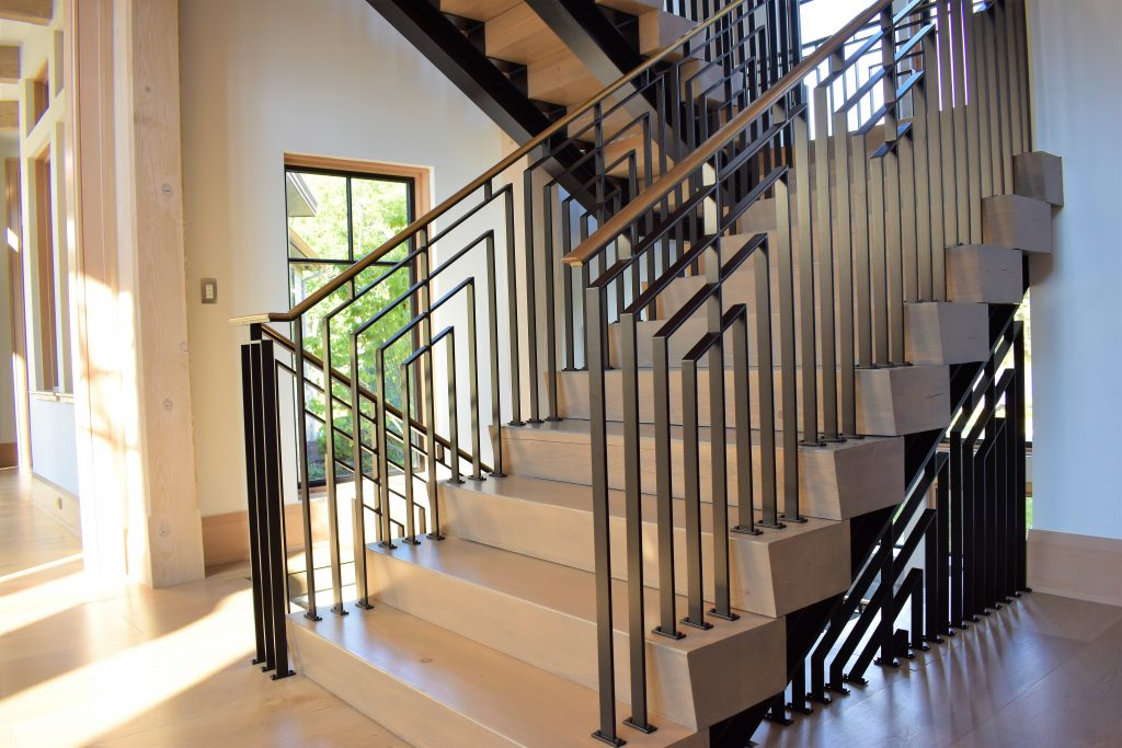 Modern Industrial Staircase