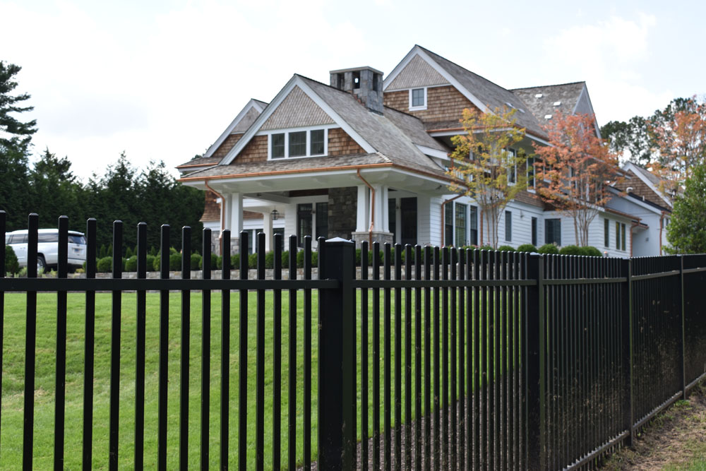 Strong Fence with Beautiful house