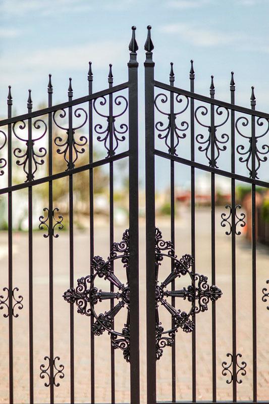 Victorian Gate Detail