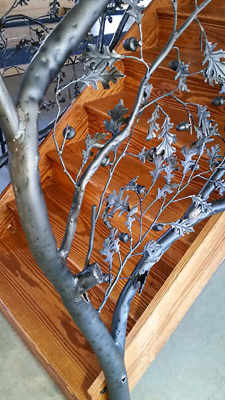 Custom Tree Railing