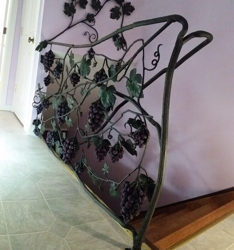 Grape Vine Handrail