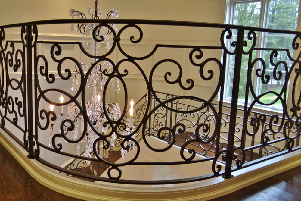 custom-forged-blackened-iron-railing
