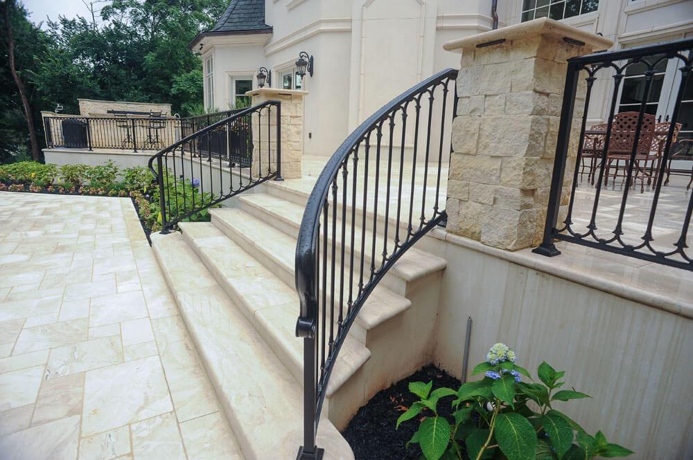 Radius Stair Railing