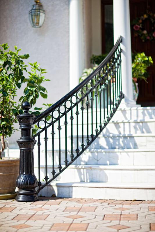 Bold Stair Railing