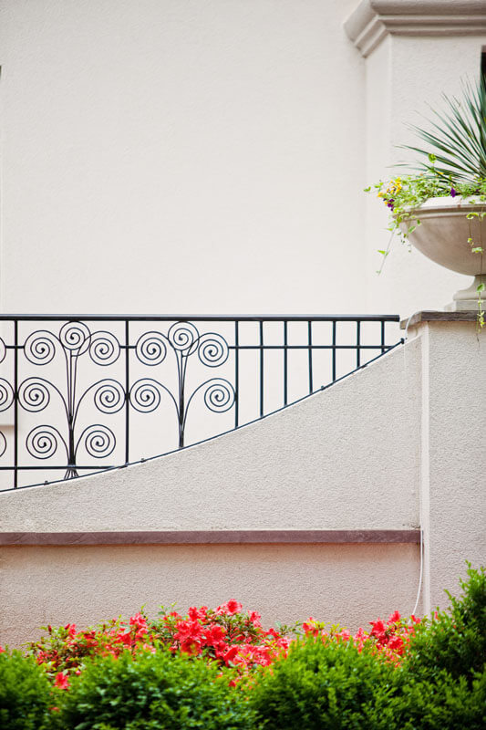 Custom Curved Railing