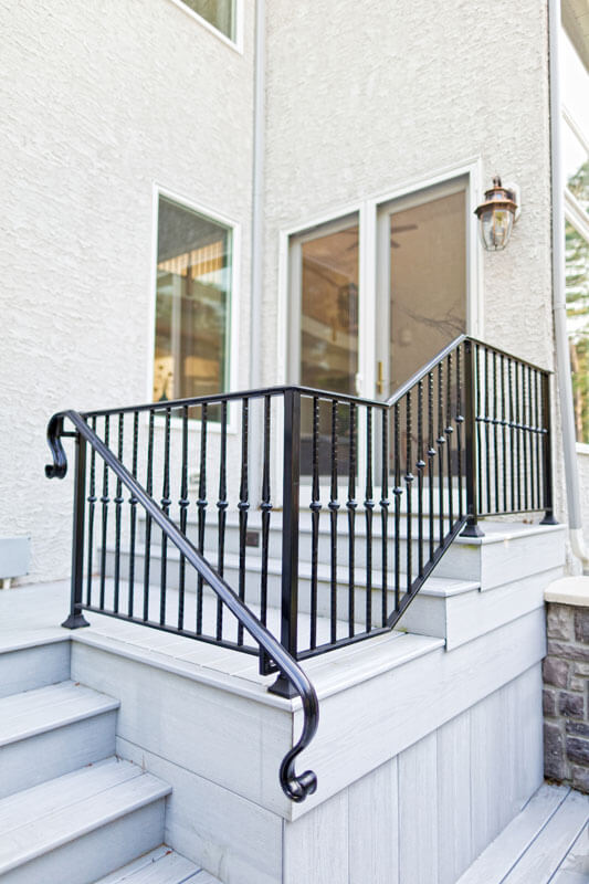 Elegant Handrail and Railing