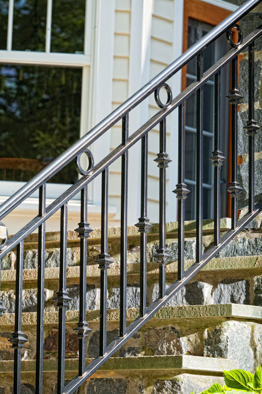Custom Mainline Design Railing