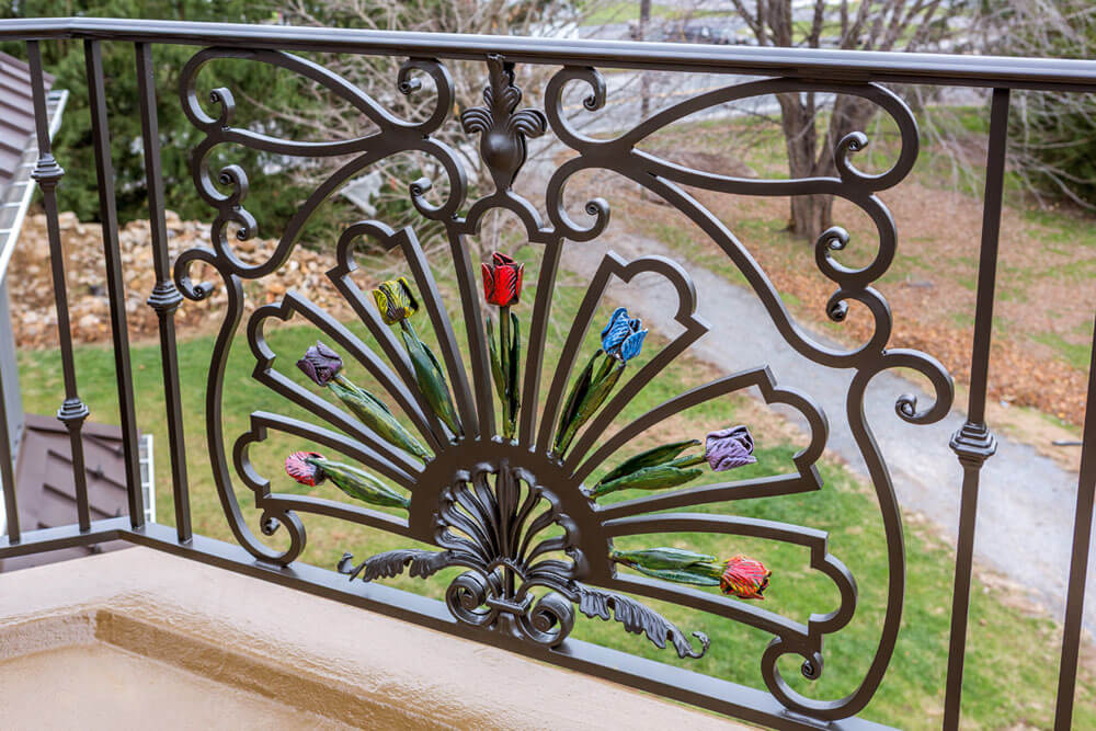 Exterior Railings - Comp Iron Works on