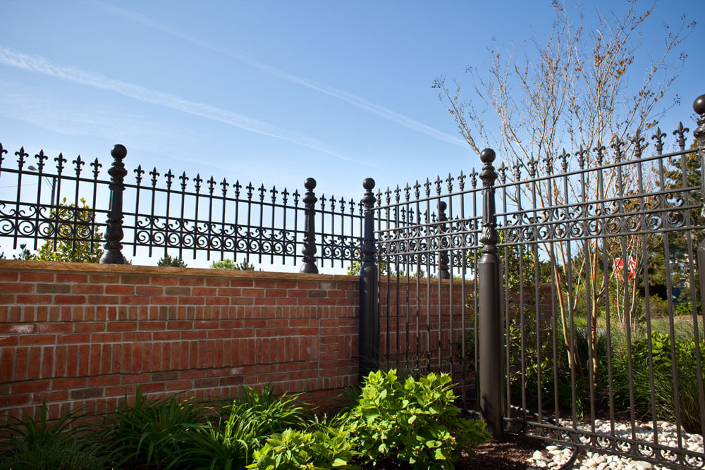 Custom Security Fence