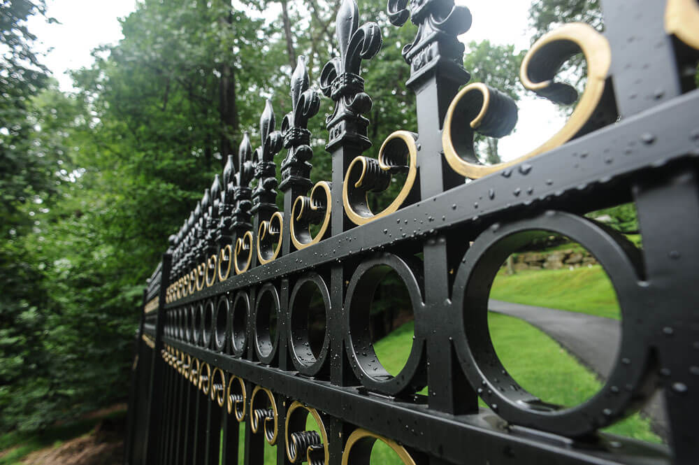 Detailed Security Fence