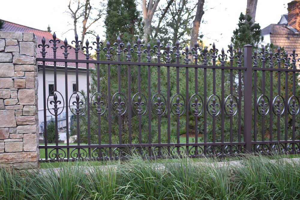 Custom Forged Front Fence