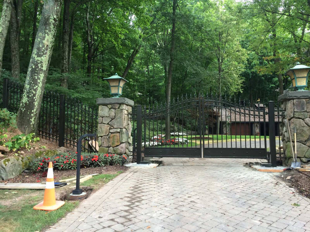 Custom Estate Security Gate