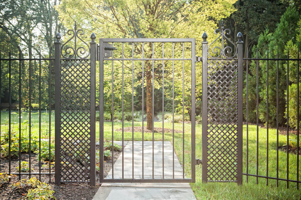 Garden Security Gate