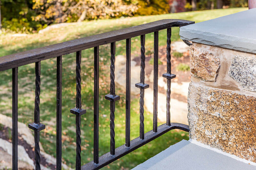 Replicated Iron Railing