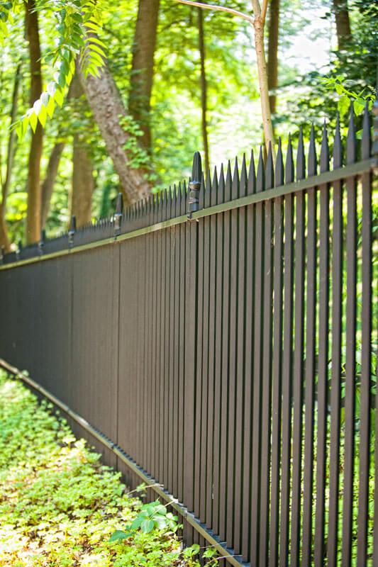 Replication Estate Security Fence