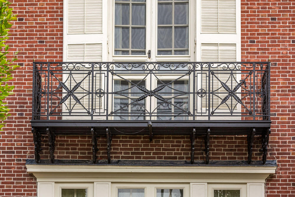 Historic Samuel Yellin Restoration Balcony