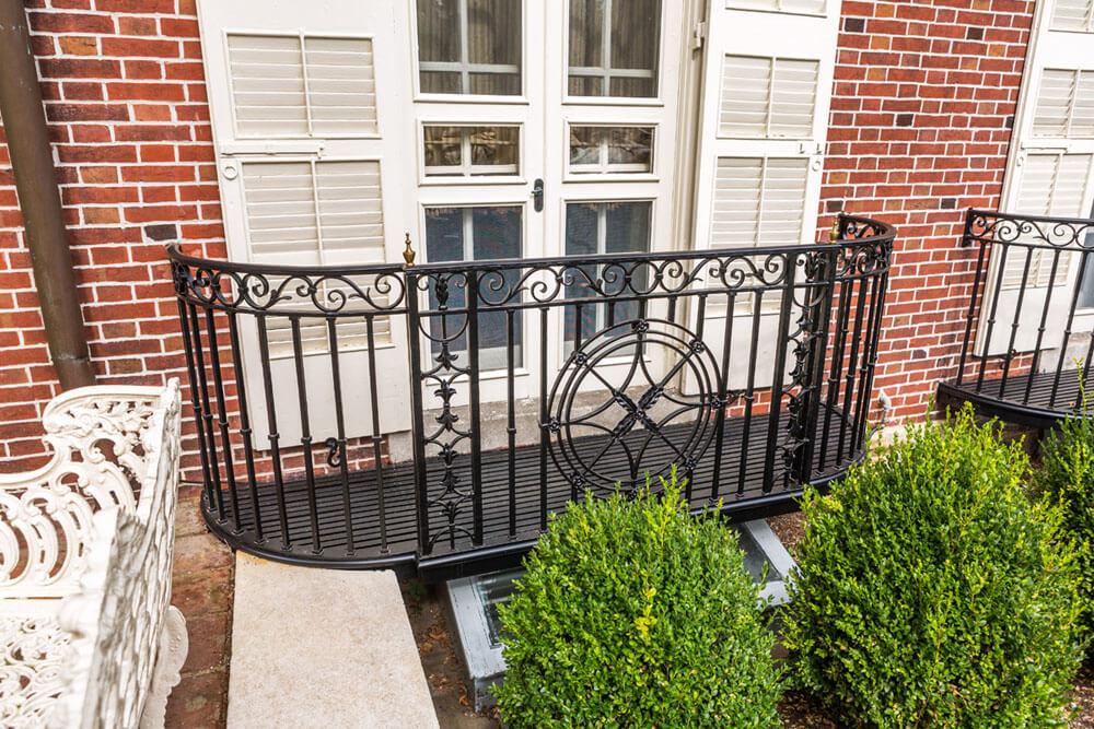 Restoration Iron Balcony Railing