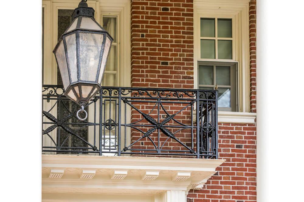 Restored Iron Balcony
