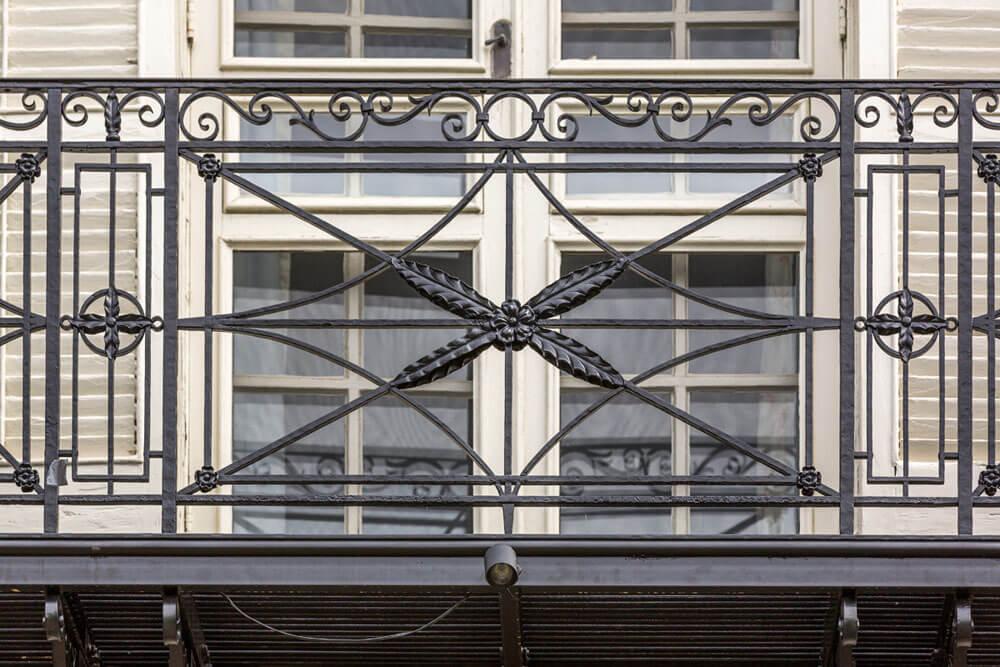 Beautiful Balcony Railing Restoration