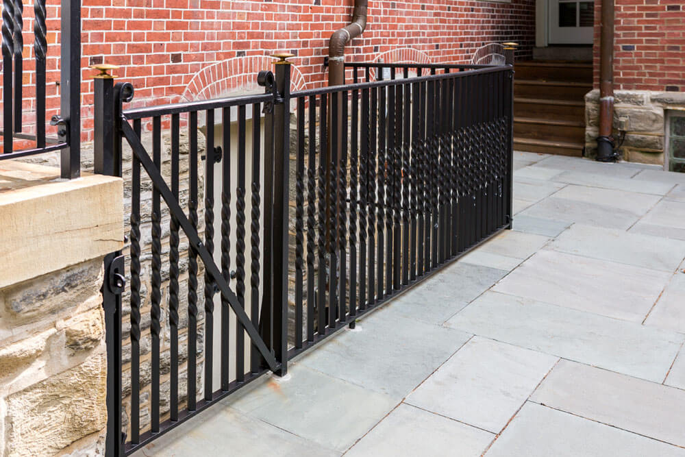 Restored Iron Railing