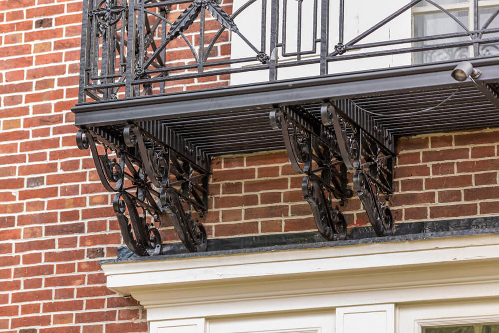 Custom Brackets for Balcony
