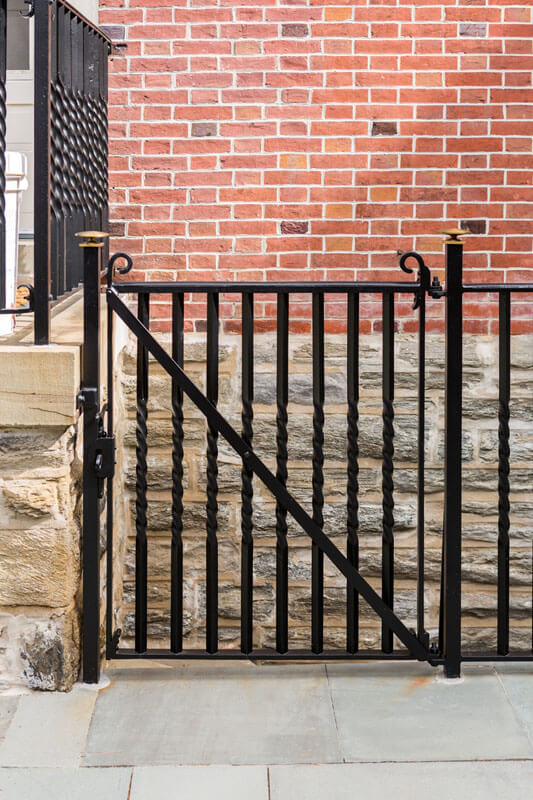 Twisted Railing Design Restoration