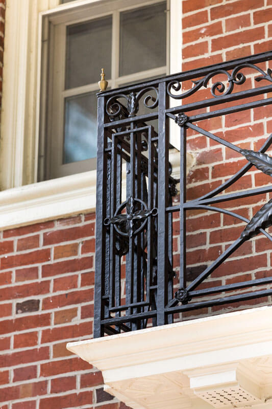 Iron Railing Restoration Design