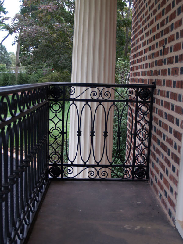 Iron Railing Restoration