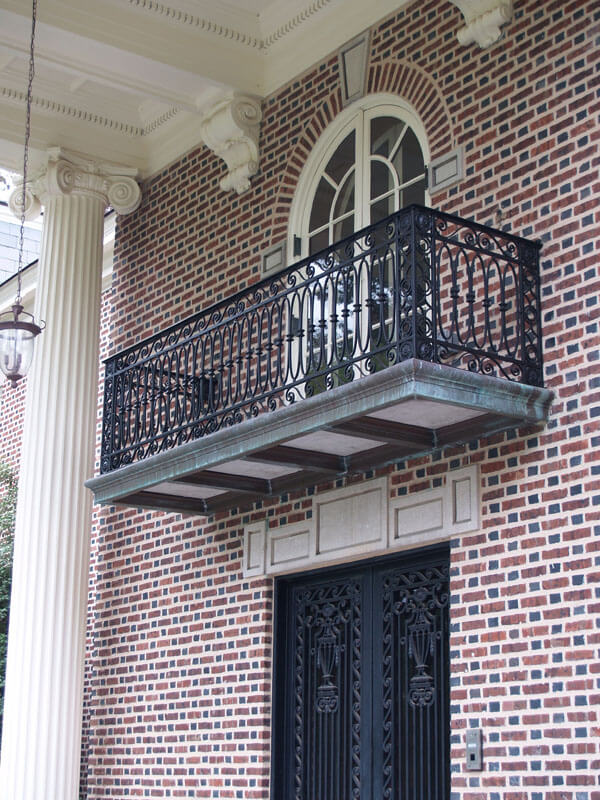 Custom Designed Iron Balcony Restoration