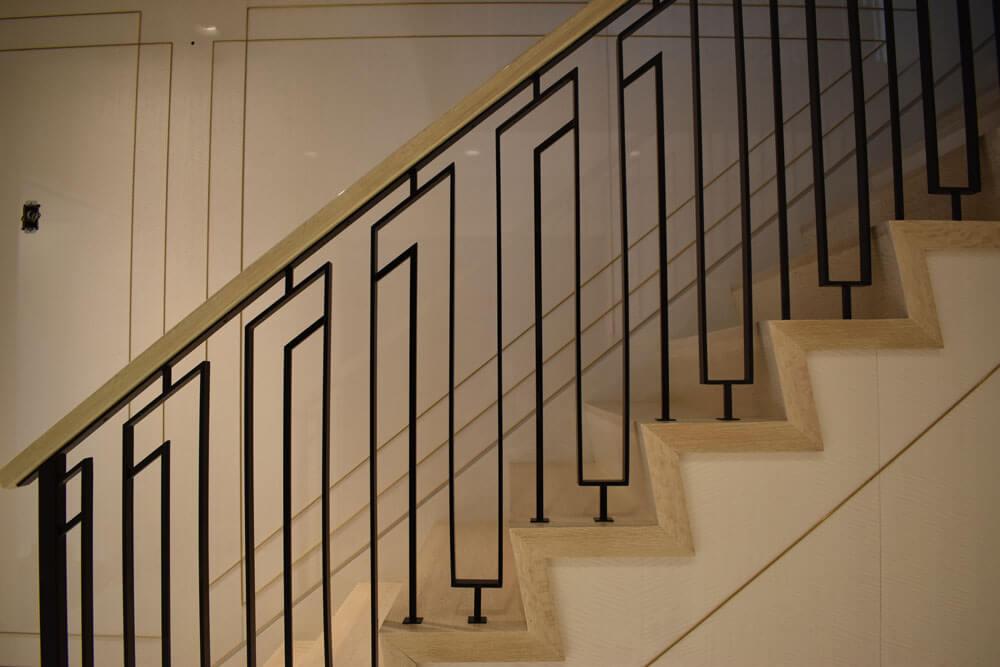 Custom Modern Stair Railing Design